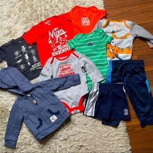 Baby clothing lot - 9 months
